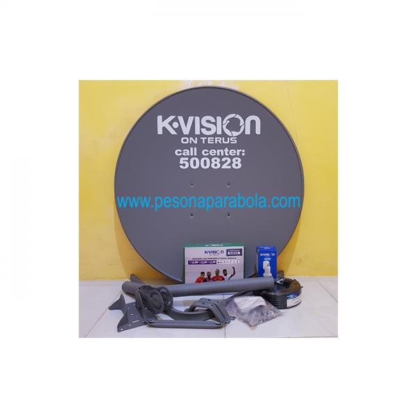 Parabola Kvision Ku Band Mini Dish