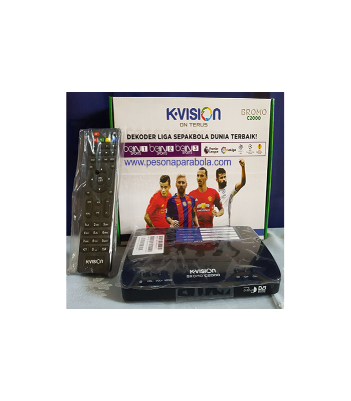 receiver kvision c band