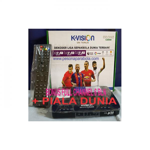 Receiver Kvision C Band Piala Dunia
