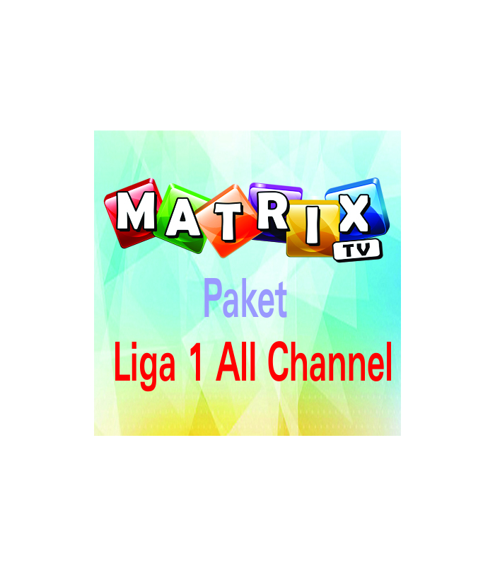 voucher paket liga 1 all channel matrix garuda