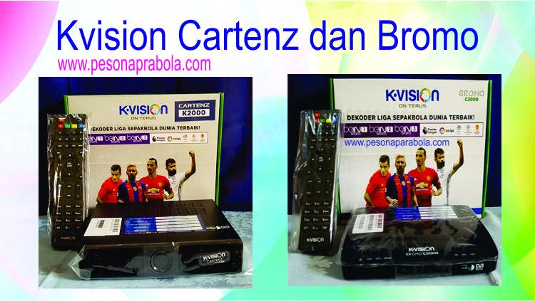 kvision cartenz dan kvision bromo