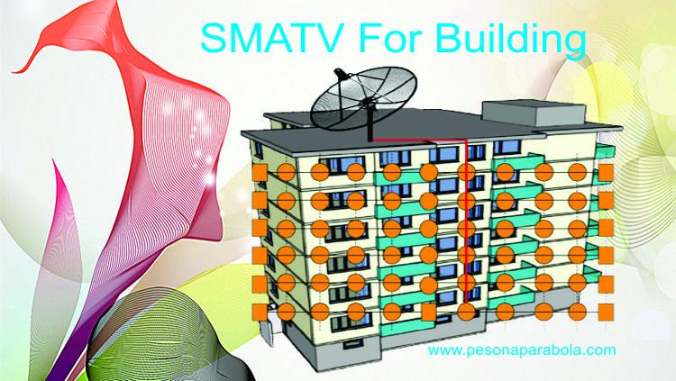 SMATV Untuk Hotel, Aparteman, Rumah Kost