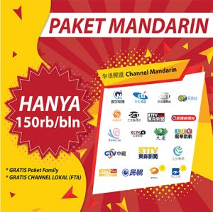 voucher mandarin (full channel) skynindo