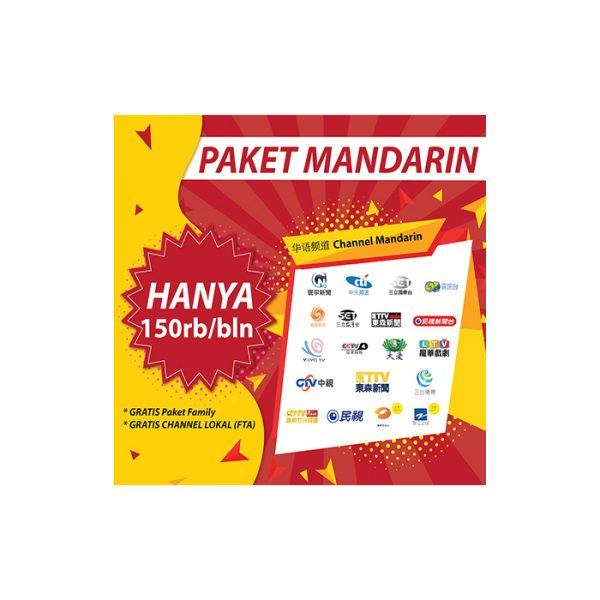 voucher paket mandarin (full channel) skynindo