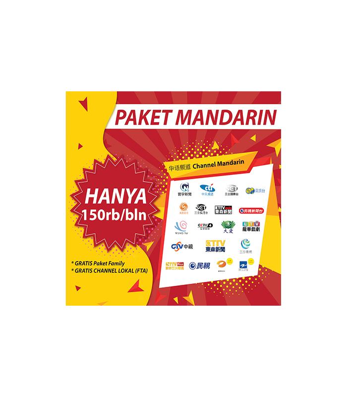 voucher paket mandarin (full channel) skynindo