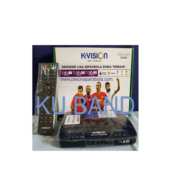 receiver kvision ku band cartenz