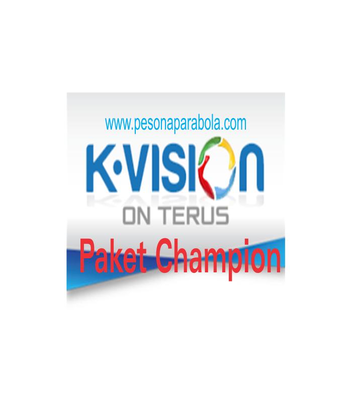 Paket Liga Champion Kvision
