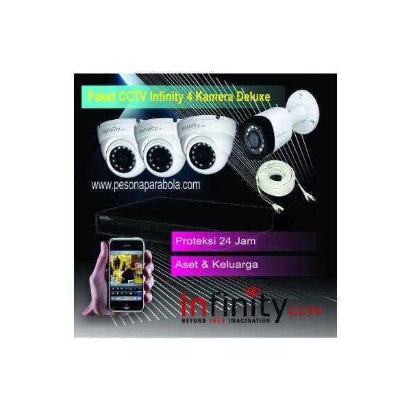 paket cctv infinity 4 kamera deluxe