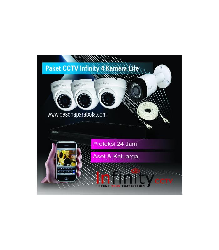 paket cctv infinity 4 kamera lite